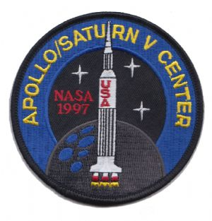 KSC APOLLO/SATURN V CENTER 1997 Embroidered Patch